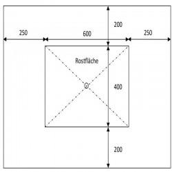 Sandstein Blockstufen Grün 15 x 35