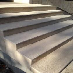 Granit Pfosten Tiago Gelb 25 x 25 cm