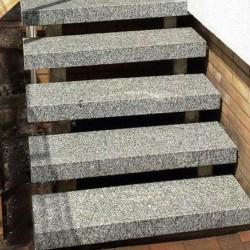 Granit Pflaster Adrian Black Schwarz gespalten