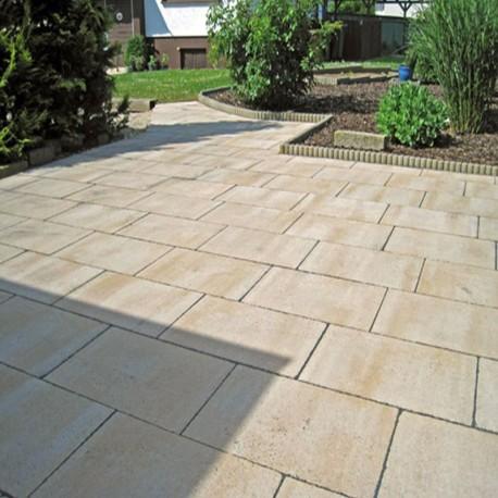 Limes Granit Pfosten Tiago Gelb 20 x 20 cm