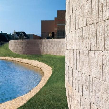 Granit Blockstufen hellgrau 18 x 45 cm 100 cm lang