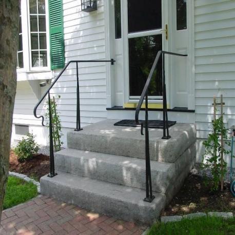 Antike Granit Pflaster Platten 5 cm bearbeitet