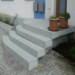 Antike Granit Pflaster Platten Grau 5 cm