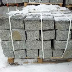 Granit-Blockstufen Griys Hellgrau 15 x 35 cm