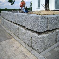 Sandstein Blockstufen Geltona Gelb-Weiß 15 x 35
