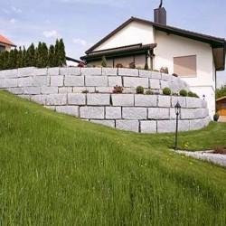 Sandstein Blockstufen Verdico Grün 15 x 35