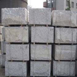 Granit Blockstufen Griys Hellgrau 20 x 45 cm