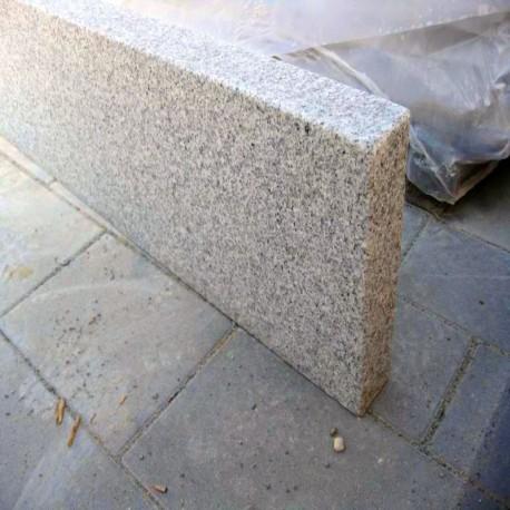 Granit Podest Platten Griys hellgrau 20 cm 150 x 150 cm