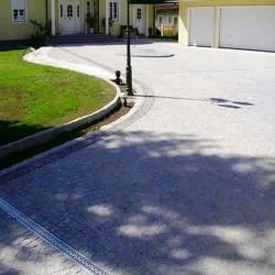 Granit Verblender Griys Hellgrau 2 - 3 cm