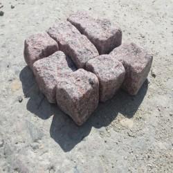 Granit-Blockstufen Griys Hellgrau 20 x 35 cm