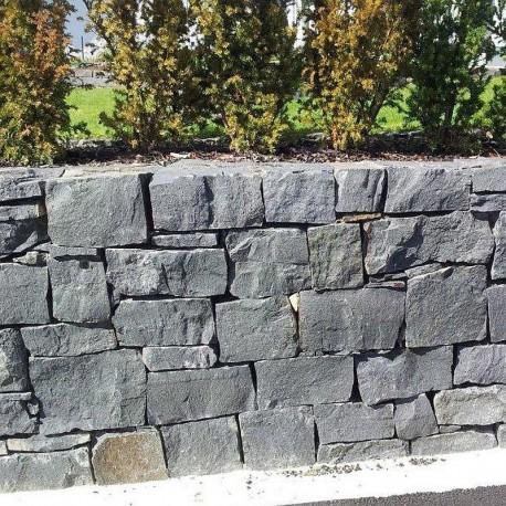 Granit Pfosten Griys Hellgrau 20 x 20 cm 100 cm lang