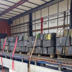 Limes Granit Pfosten Griys Hellgrau 20 x 20 cm