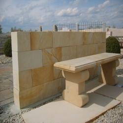 Mauer Abdeckplatten Granit Tiago 3 cm