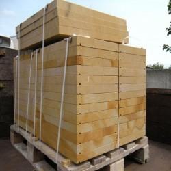 Granit Sitz Blöcke Griys Hellgrau 90 x 45 x 45 cm