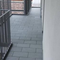 Kalkstein Pflaster Blancka Flava Weiß gespalten