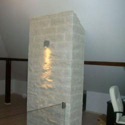 Basalt Pflaster Schwarz Anthrazit gespalten
