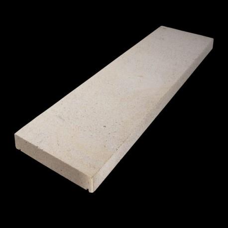 Granit-Pflaster Platten Tiago Gelb 6 cm gestrahlt