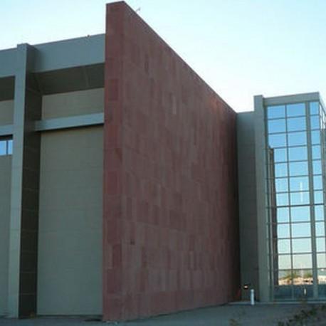 Granit Pflaster Platten Tiago Gelb 8 cm gestrahlt