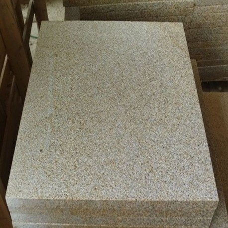Granit Pfosten grau 20 x 20 cm geflammt 150 cm lang