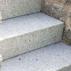 Granit Mauerabdeckplatte Griys Hellgrau 3 cm