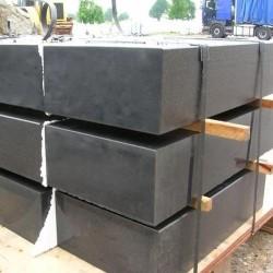 Basalt Mauersteine Nika gespalten Basalt Mauer bis ca 80 cm Höhe