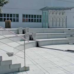 Sandstein Mauer Abdeck Platte Farin 3 cm