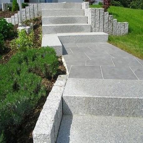 Granit Terrassen Platten Alvaro Antrhazit 60 x 30 x 3 cm