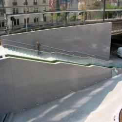 Granit Blockstufen Tiago Hellgelb 15 x 40 cm Gestrahlt 150 cm lang