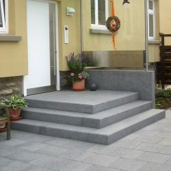 Granit Podest Platte Tiago Gelb 18 cm 150 x 100 cm