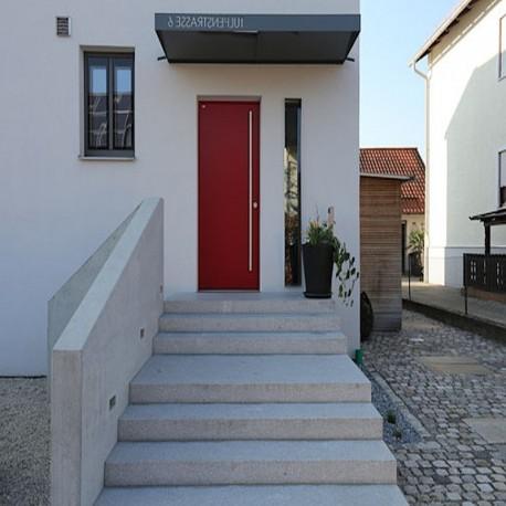 Granit Podest Platte Alvaro Anthrazit 18 cm stark