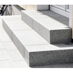 Granit Podestplatte Alvaro Dunkelgrau 18 cm stark