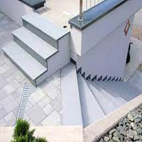 Granit Podest Platte Alvaro Anthrazit 150 x 150 x 20 cm