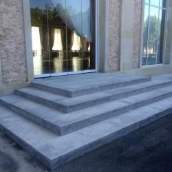 Sandstein Mauerabdeckplatte Multicolour Rot-Gelb 3 cm