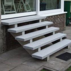 Basalt Mauersteine Nika gespalten
