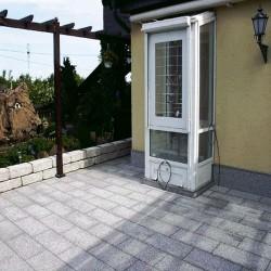 Grauwacke Kleinmauersteine 6 - 25 cm hoch bunt