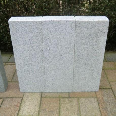 Muschelkalk Mauersteine 40 - 50 cm hoch - Natur Steine Org