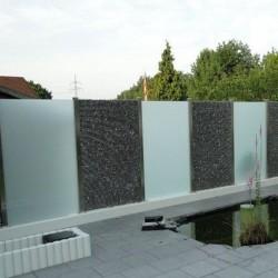 Granit Gelb Decorative Rolled Stones