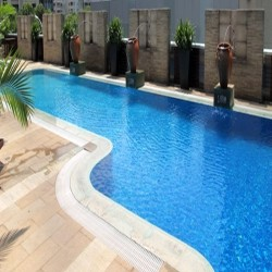 Granit Terrassenplatten Tiago Gelb 3 cm