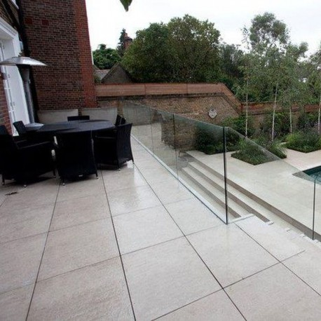 Granit Pflaster Platten Gelb 6 cm kugelgestrahlt 30 x 20