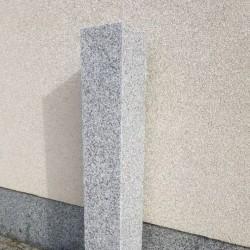 Granit Palisaden Elena Weiß 8 x 25 cm 100 cm lang