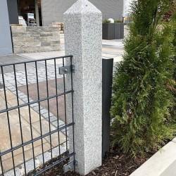 Granit Palisaden Tiago Hellgelb 10 x 25 x 120 cm