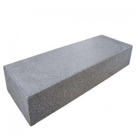 Granit Pfosten Elene Weiß 25 x 25 cm