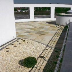 Zaun Pfosten Granit Hellgrau 26 x 26 cm 160 cm lang