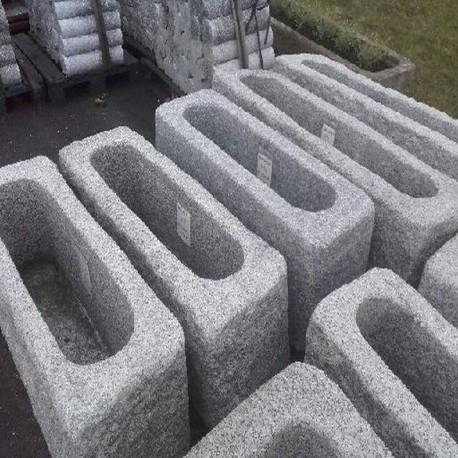 Sandstein Blockstufen Mapula Rot 15 x 35 cm 100 cm lang geschliffen
