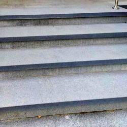 Granit Podest Platten Griys 15 cm
