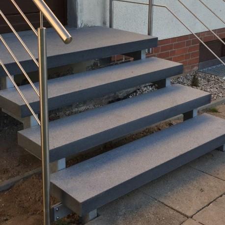 Sitz Blöcke Kalkstein Weiß sandgestrahlt 45 x 45 x 45 cm