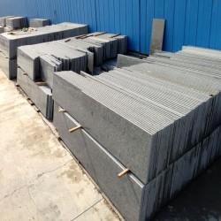 Schiefer Sitzblöcke Schwarz Anthrazit gespalten