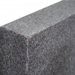 Schiefer Quellsteine Schwarrz Anthrazit gespalte 50 x 50 x 50 cmn