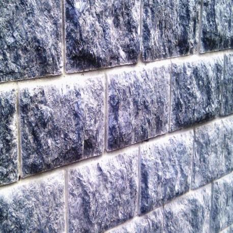 Basalt Sitzblöcke Schwarz geflammt 45 x 45 x 45 cm