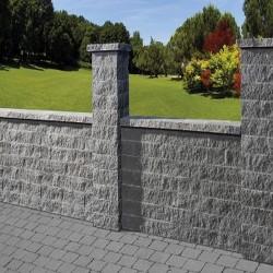Granit Blockstufen Hellgrau 15 x 40 cm